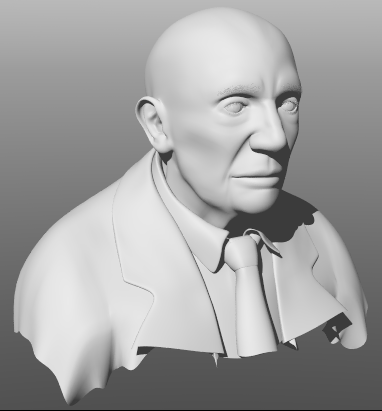 Picasso Bust 01